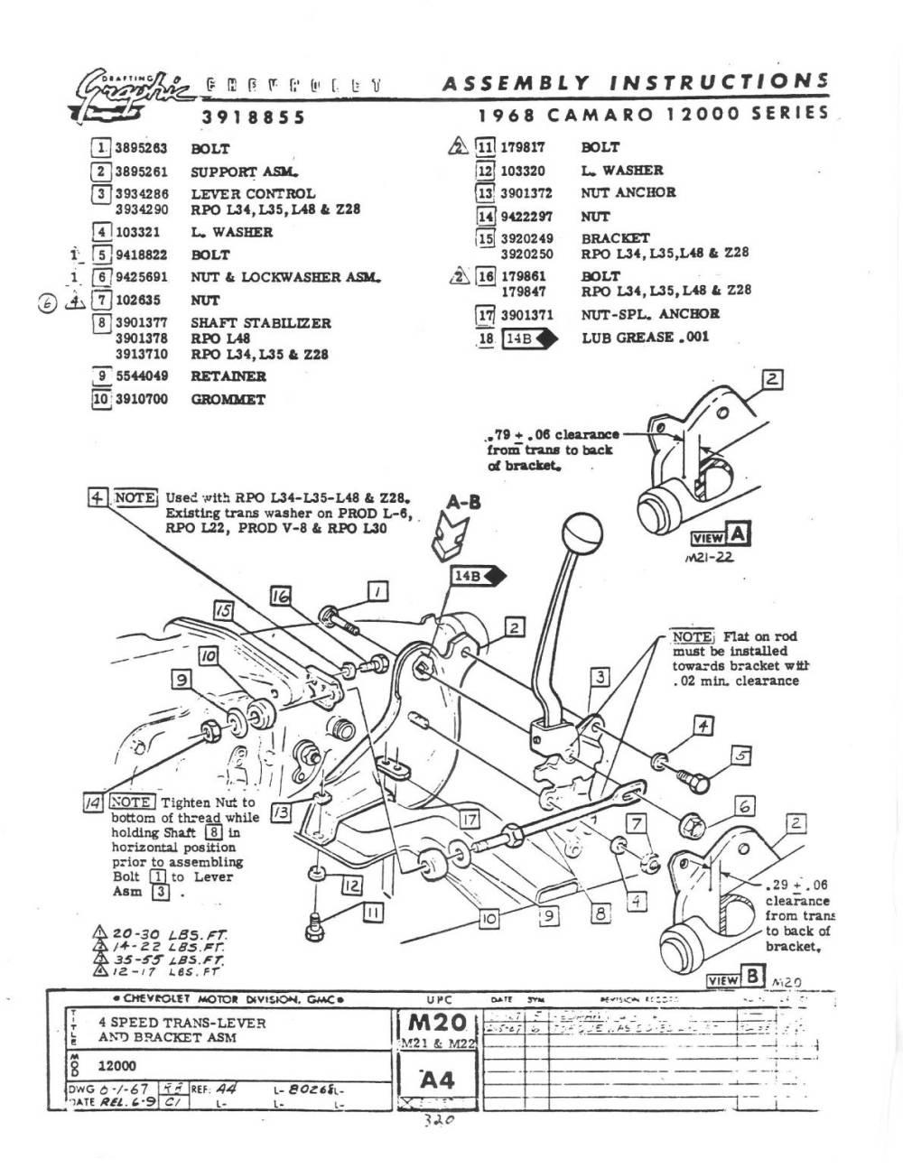 medium resolution of 1967 firebird shifter wiring diagram