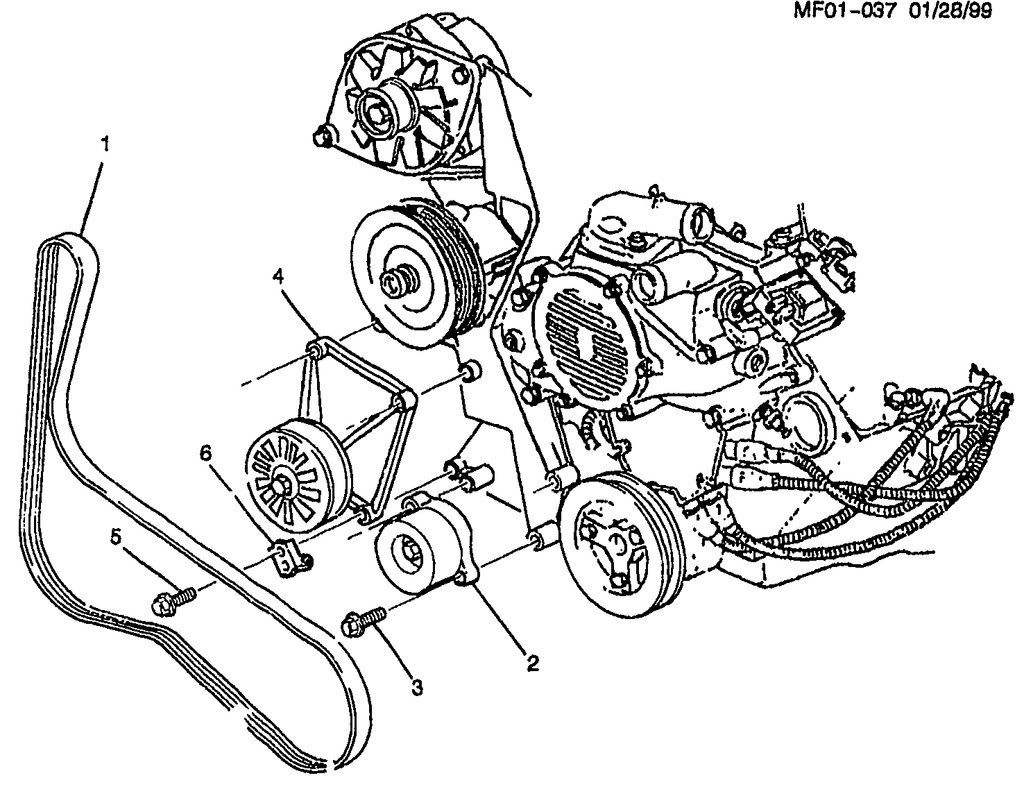 Engine Pulley Names