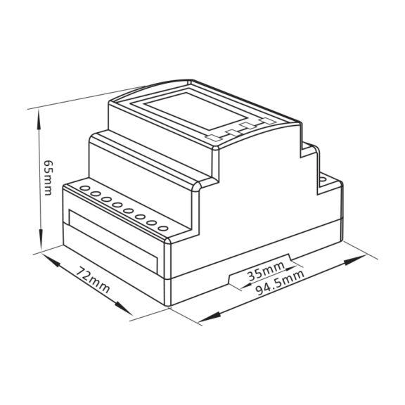 SMARTRAIL X835-MID Multi-function Power Meter