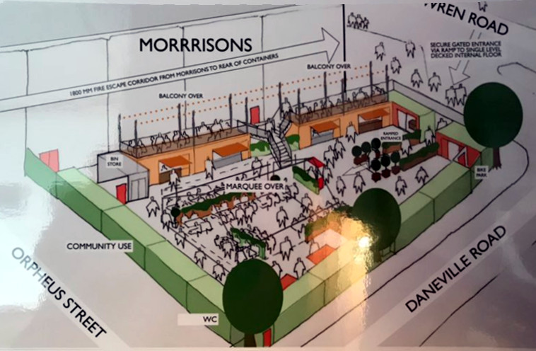 Camberwell Yards 'box park' plans scrapped