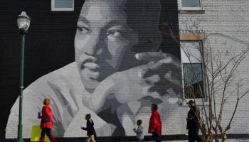 Día de Martin Luther King Jr comemora los derechos civiles y su discurso Yo Tengo Un Sueño