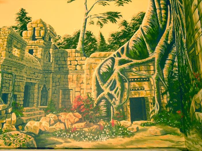 Editorials on Cambodia Lost Temple in the Jungle