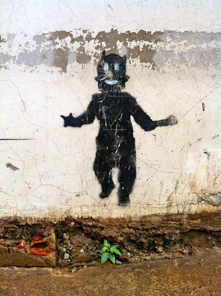 Cambodian Moments Graffiti