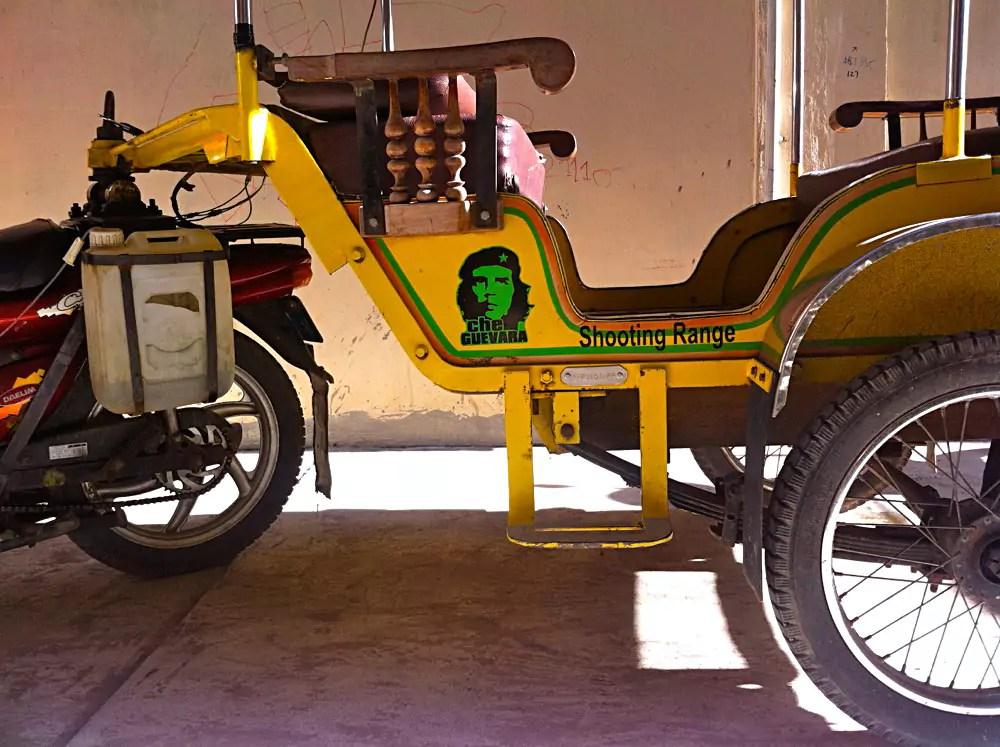 Cambodian Moments Che Guevara Tuk Tuk