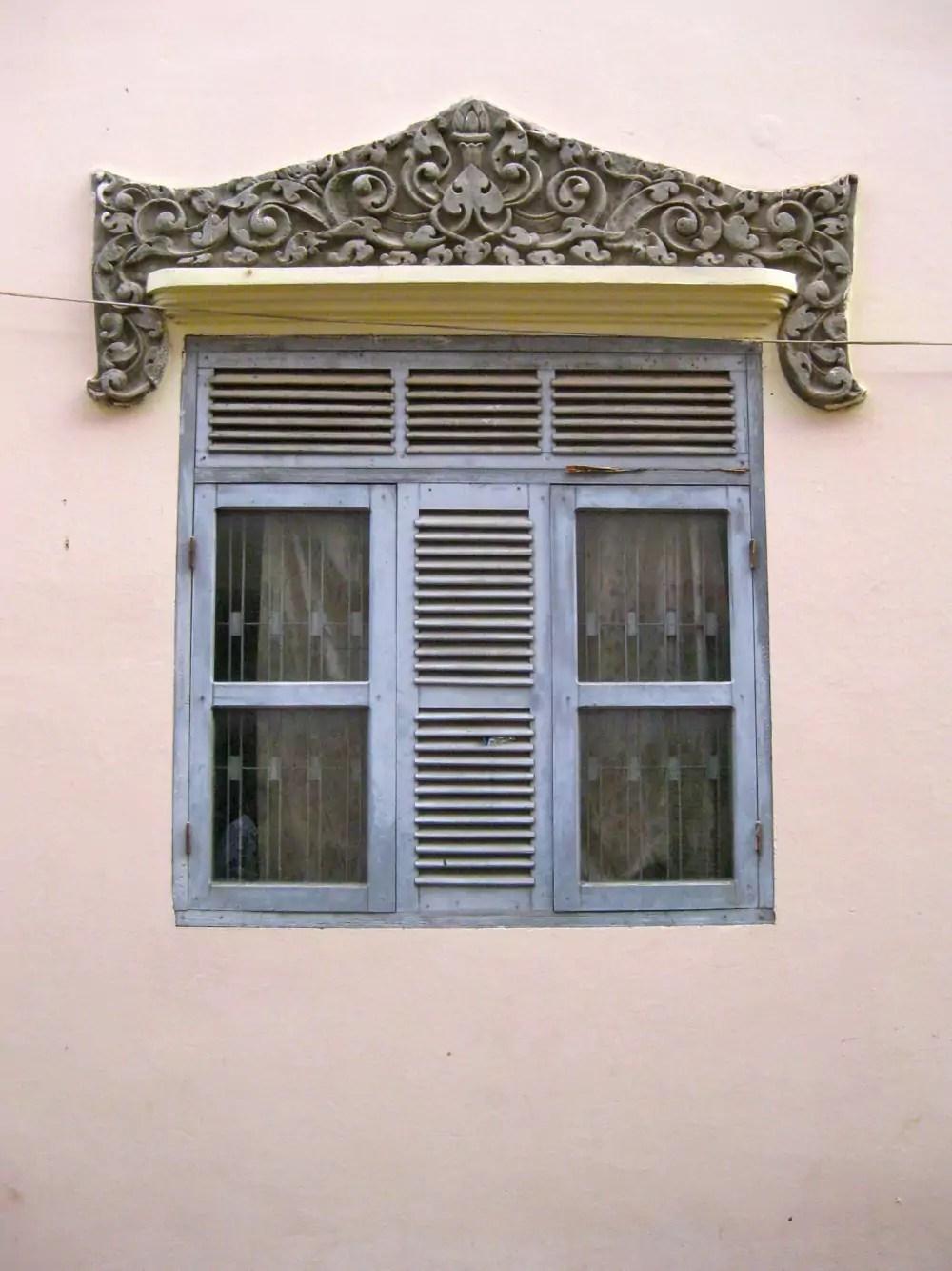 Windows Walls Wat Ounalom