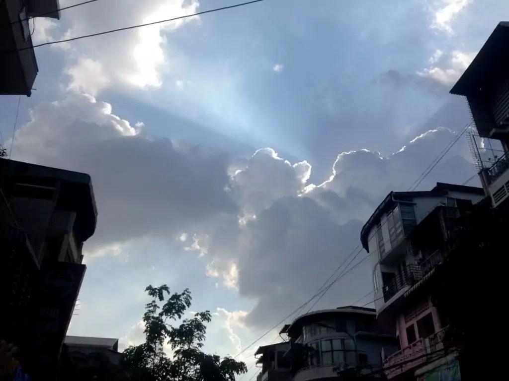 Dramatic Sky Dramatic Evening Sky Over Phnom Penh