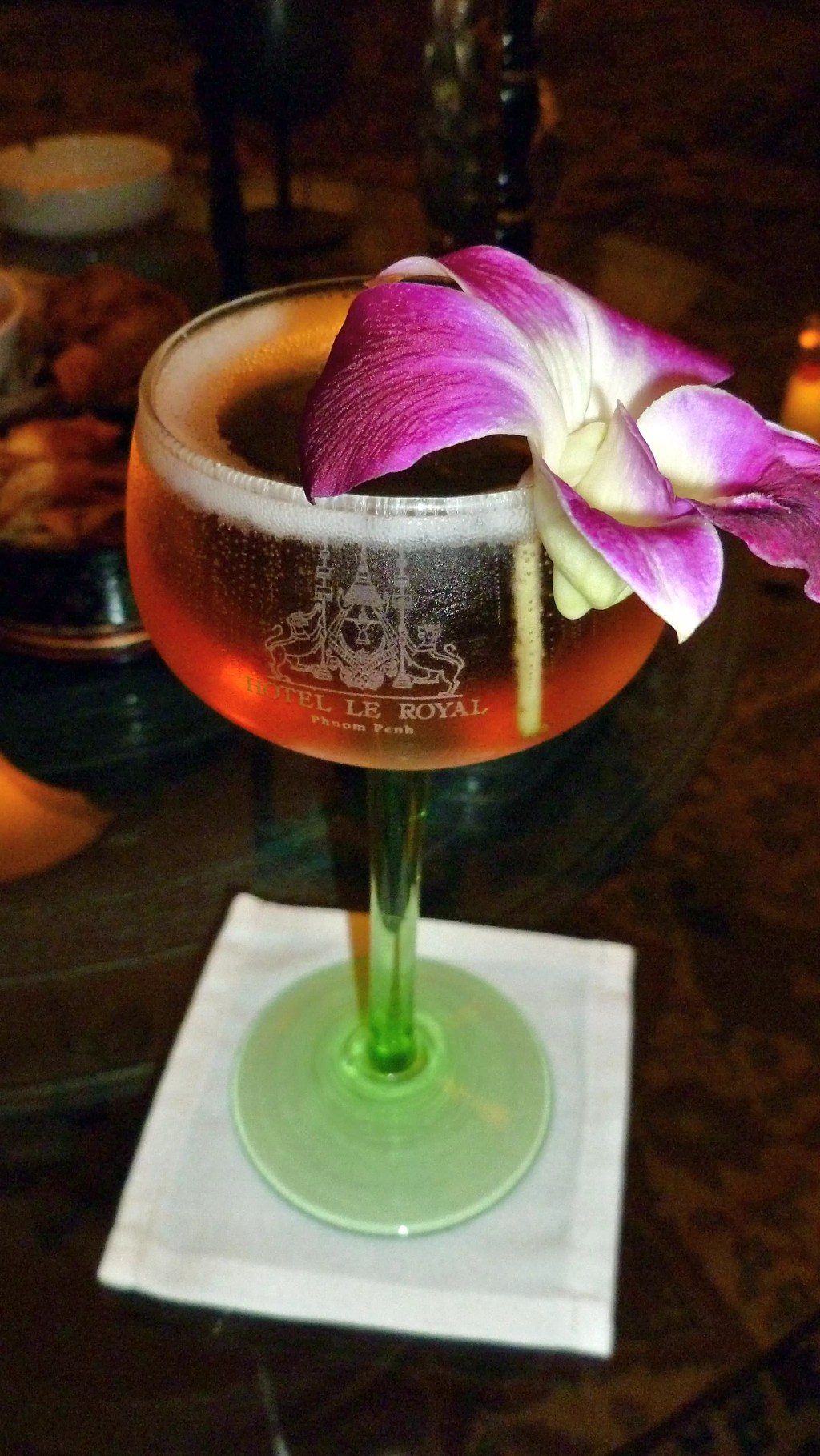 Cocktail created for Jackie Kennedy in Phnom Penh