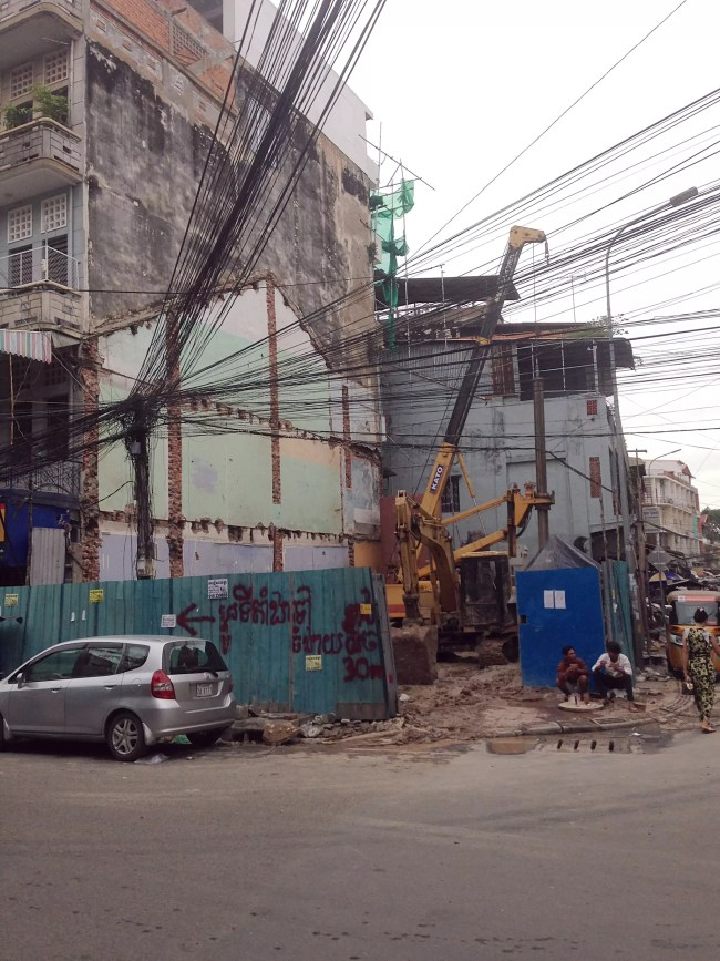 Here Today, Gone Tomorrow. Ghosts of Phnom Penh.