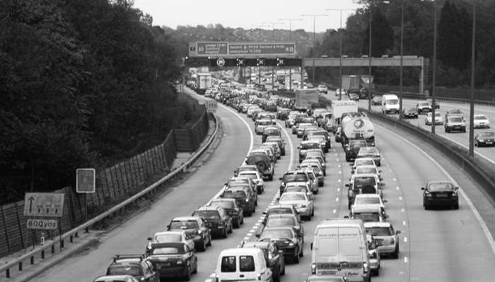 uk busiest roads