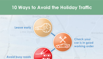 10 Ways to Avoid the Holiday Traffic – infographic