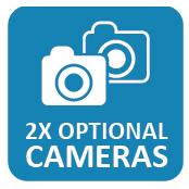 2x optional cameras