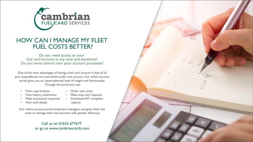 manage fleet costs infographic