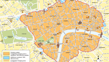 Congestion Charge Rises by 30% from Today