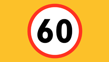 Roadworks Speed Limit Increased – Infographic