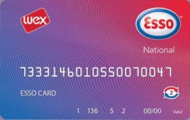 esso national card