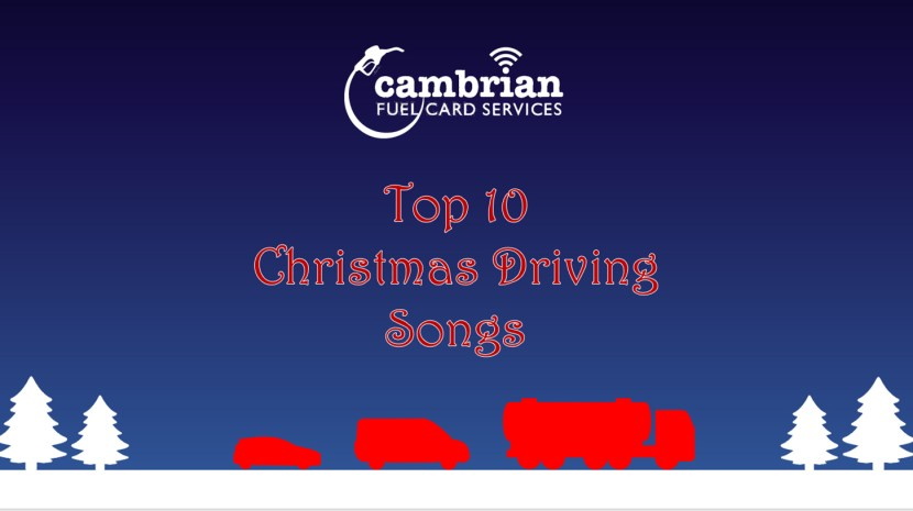 top 10 christmas driving songs video cover