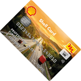 Shell Electric Vehicle Card
