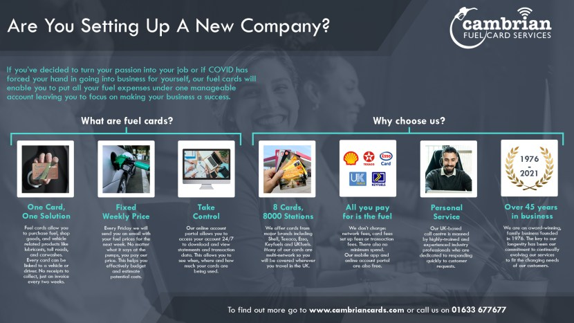 Are You Setting Up A New Company? - Infographic.