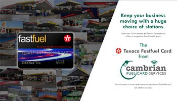 Texaco Fastfuel Card Advert – Infographic
