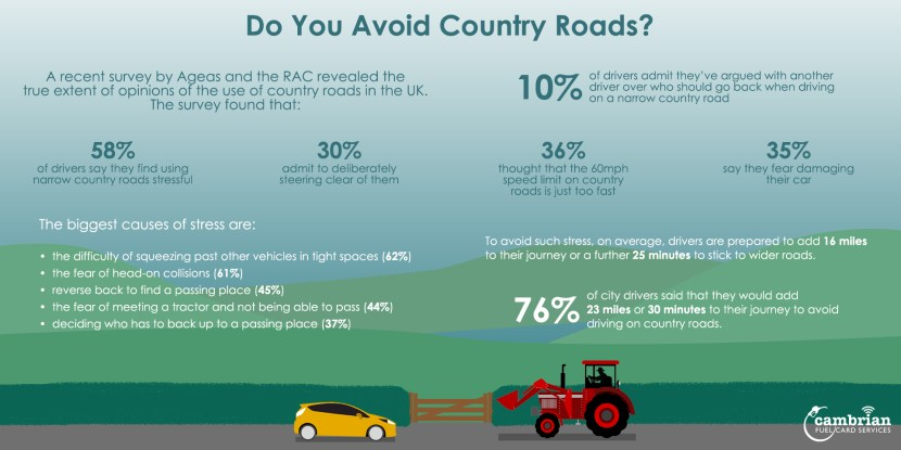 country road infog