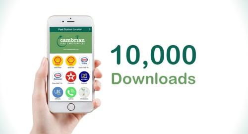 10000 App Downloads