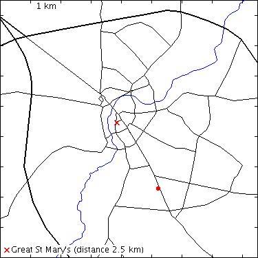 Cambridge 2000: Homerton College: Hills Road: Mary Allen
