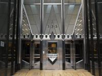 New York City, NY: Chrysler Building: entrance