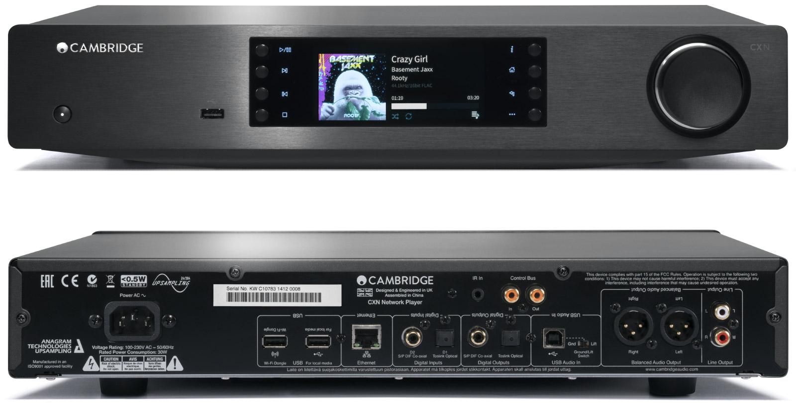 CXN  Network Player  Cambridge Audio