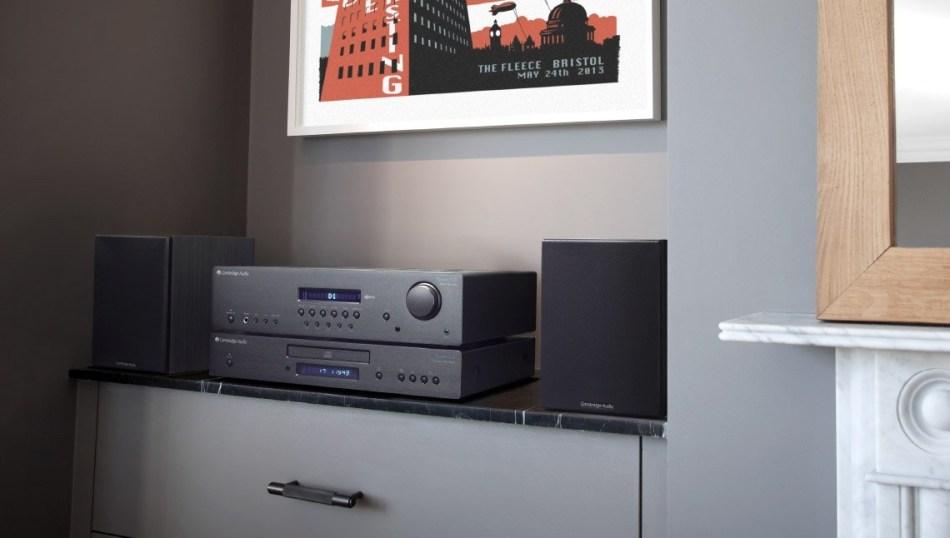 Cambridge Audio SR10 setup