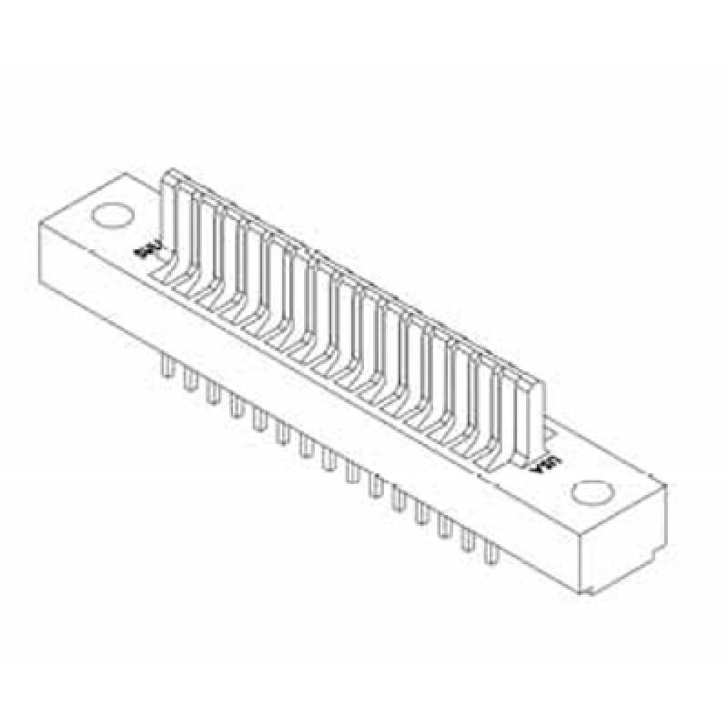 Card Edge Header 2.54mm [.100