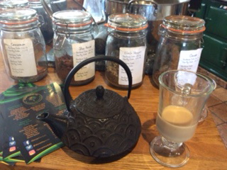 Spices and tasting the chai