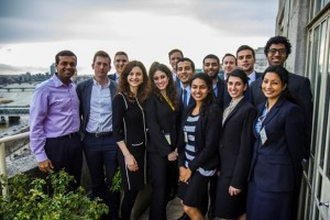 Cambridge MBA Social Innovation SIG Team with Pearson Affordable Learning Fund in London