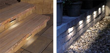 hardscape lighting cambridge pavingstones