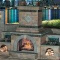 Outdoor fireplace plans do yourself http www cambridgepavers com