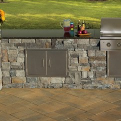 Outdoor Kitchens Kits Industrial Kitchen Islands Cambridge Pavingstones Living Solutions With Fully Assembled