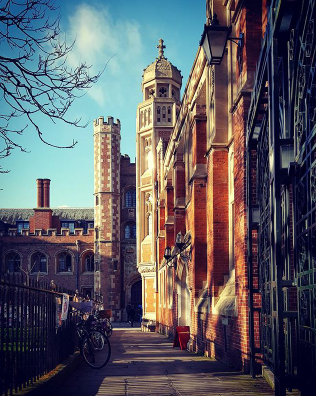 St John's College, All Saints Passage