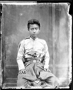 Thomson's shot of a Young Siamese Boy in Bangkok, 1865. Photograph © The Wellcome Library, London