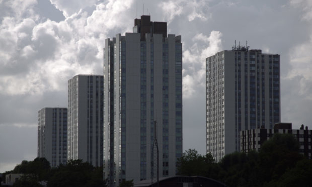 Towers on the Chalcots Estate