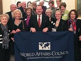 Camden Conference and World Affairs Council of Philadelphia Trip: Inside Washington
