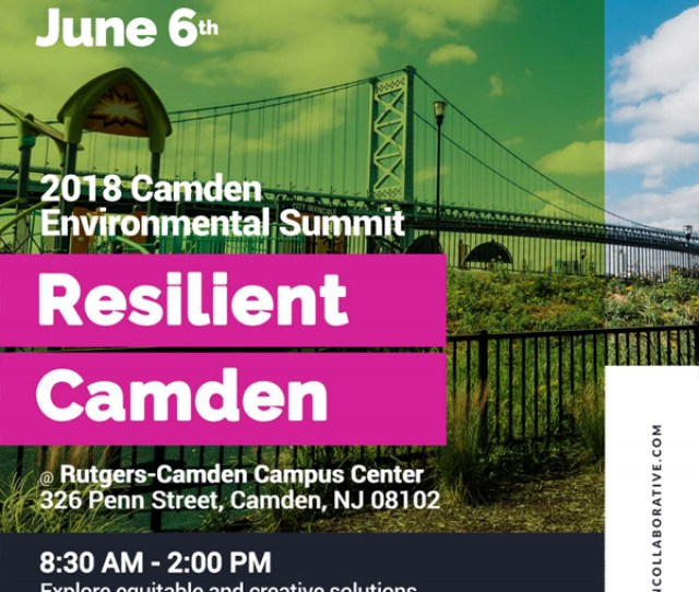 2018 Camden Environmental Summit