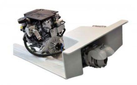 Motore e idrogetto senza invertitore