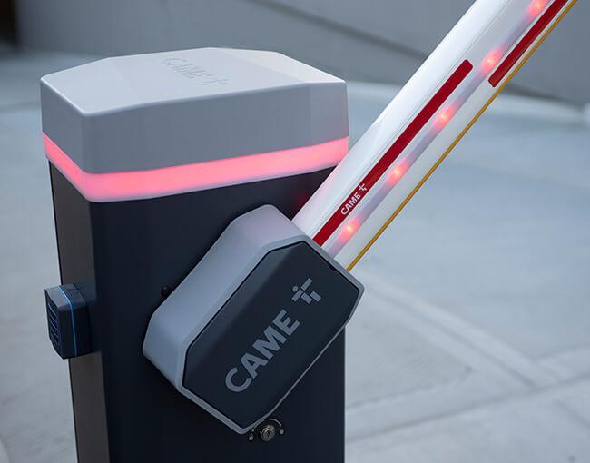Новите бариери CAME GARD GT4 и GT8, създадени за интензивно натоварване, предлагащи издръжливост и надеждност