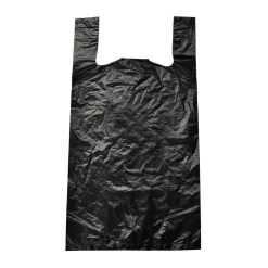 Small -Plastic Black Bags