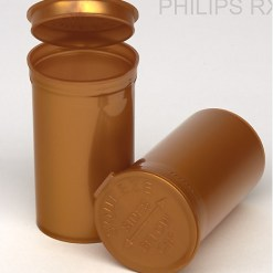 60 Dram Opaque Gold PHILIPS RX® Pop Top Containers
