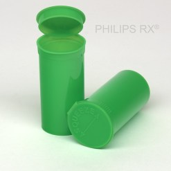 13 Dram Opaque Lime PHILIPS RX® Pop Top Containers
