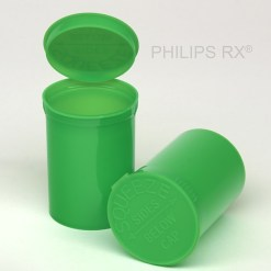 30 Dram Opaque Lime PHILIPS RX® Pop Top Containers