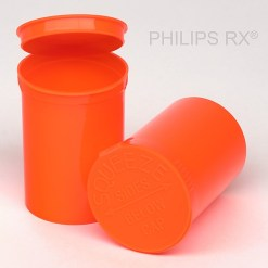 30 Dram Opaque Mango PHILIPS RX® Pop Top Containers