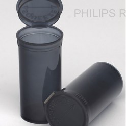 13 Dram Translucent Smoke PHILIPS RX® Pop Top Containers