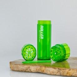High Roller Grinder and 84mm Cone Filler - Green