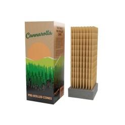 Cannarolla Cones Brown 1-1/4 - 84/26mm